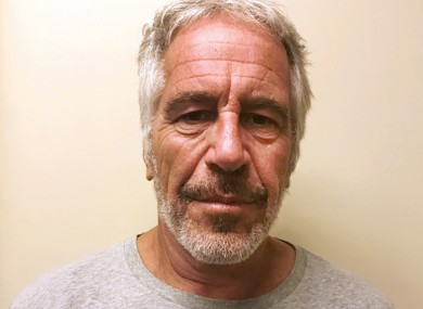 File photo of Jeffrey Epstein, provided by the New York State Sex Offender Registry.