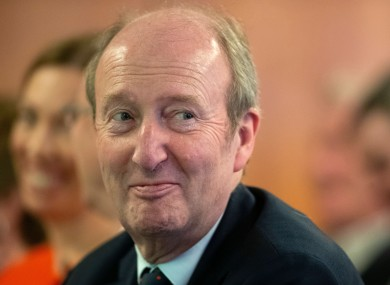 Minister for Transport, Tourism and Sport, Shane Ross.