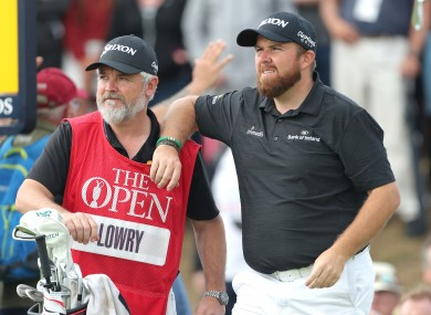 Shane Lowry during day three of The Open Championship 2019 at Royal Portrush Golf Club.