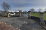 Entrance to Dowdallshill grave yard in Dundalk.