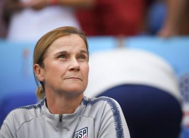 Former USWNT head coach, Jill Ellis.