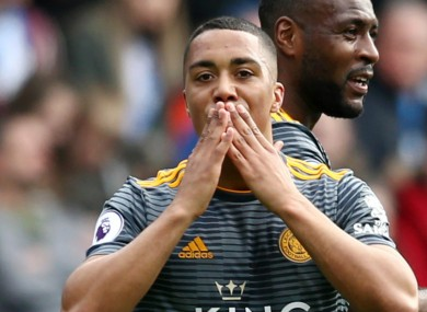 Youri Tielemans previously had a successful loan spell at Leicester.