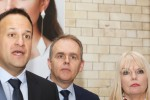 Taoiseach Leo Varadkar, Minister for Education and Skills, Joe McHugh and Minister of State for Higher Education Mary Mitchell O'Connor.