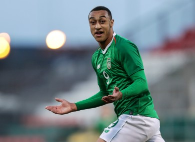 Ireland U21 star Adam Idah.