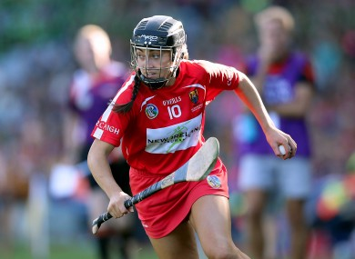 Cork star forward Amy O'Connor.