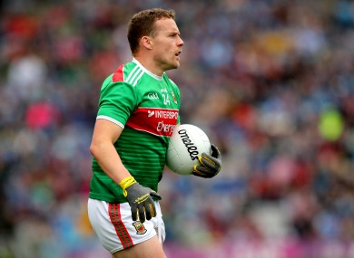 Andy Moran's last appearance for Mayo came in the recent loss to Dublin.