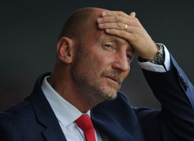 Ian Holloway (file pic).