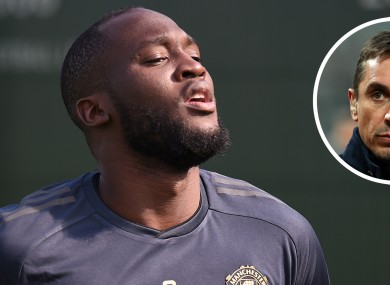 Romelu Lukaku is expected to complete a move to Inter today.