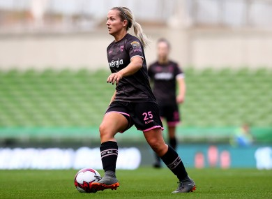 Wexford's Katrina Parrock came on as a sub during today's game (file picture).