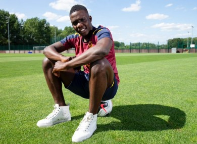 Marvelous at Villa's training ground.