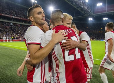 Ajax survived a scare this evening in the Champions League.