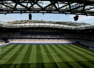 Nice's stadium, Allianz Riviera