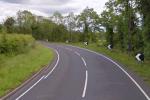 The A3 in Co Fermanagh near Wattle Bridge.