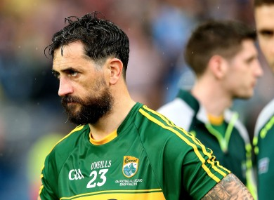 Galvin hung up his Kerry jersey in 2016.