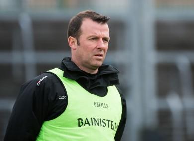 Sligo senior football manager Paul Taylor.