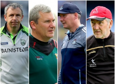 Kerry, Mayo, Dublin and Tyrone are all in action next weekend.