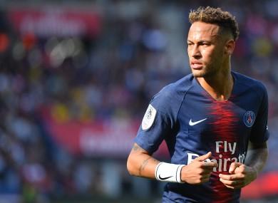 Footballer Neymar had denied allegations made against him.