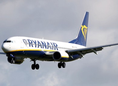 Ryanair have argued the strike action was unlawful.