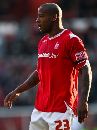 Junior Agogo during his time at Nottingham Forest.