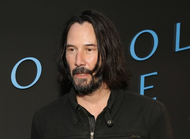 Reeves played Neo in the influential trilogy.