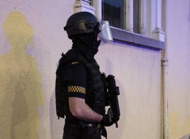 An armed garda on patrol (file photo)