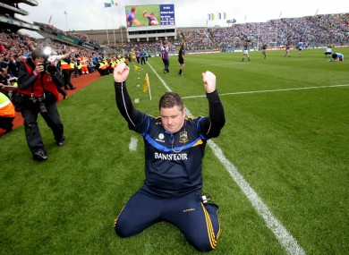 Tipperary manager David Power.