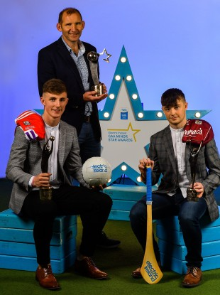 Conor Corbett, Fergal O'Donnell and Seán McDonagh collected their awards on Saturday.