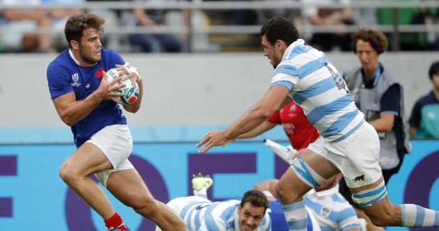 As it happened : France v Argentina, Rugby World Cup