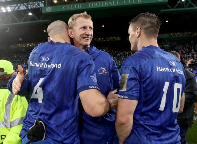 Scott Fardy will play an important role for Leinster in the coming weeks.