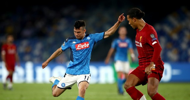 As it happened: Napoli v Liverpool, Champions League