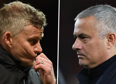 Mourinho was critical of Solskjaer's team.