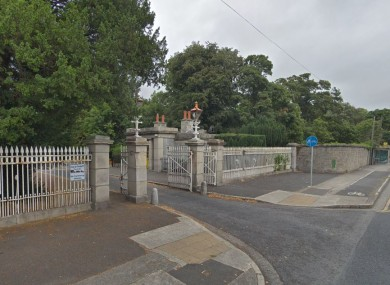 One of the sets of gates is at the Chapelizod entrance.