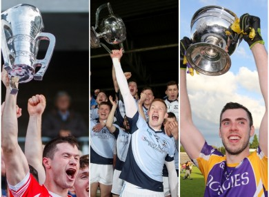 Imokilly, Na Piarsaigh and Derrygonnelly are all reigning county champions.