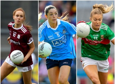 Olivia Divilly, Sinead Goldrick and Sarah Rowe were all nominated.