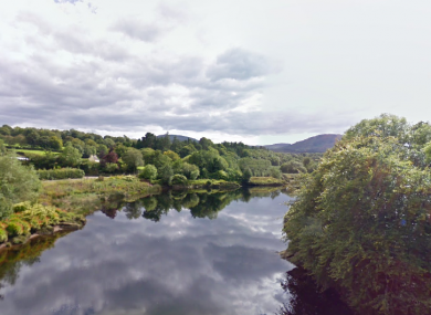 View from Roughty Bridge, Roughty River, Co Kerry