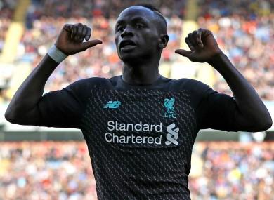 Subbed: Liverpool forward Sadio Mane.
