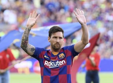 Lionel Messi has helped Barcelona win the last two La Liga titles.