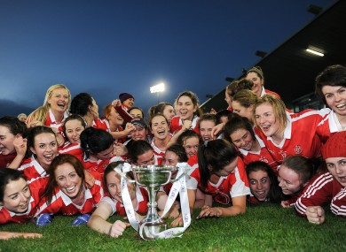 Donaghmoyne players after their 2016 All-Ireland win.