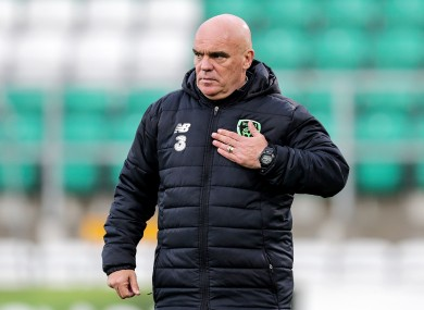 Interim Ireland boss Tom O'Connor.