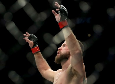 UFC lightweight Donald Cerrone.
