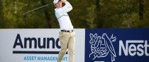 Moynihan in action at Le Golf National.