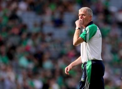 Limerick manager John Kiely.