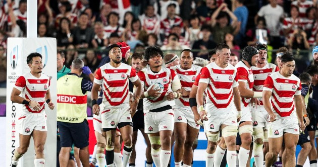 As it happened: Japan v Scotland, Rugby World Cup
