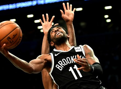 Brooklyn Nets star Kyrie Irving.