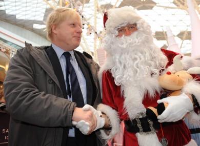 Boris Johnson during his time as London Mayor in 2010.