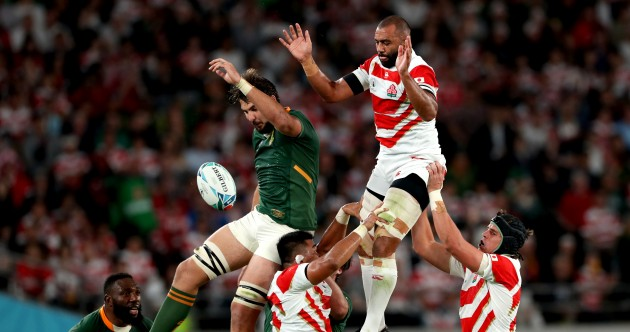 As it happened: Japan v South Africa, Rugby World Cup quarter-final