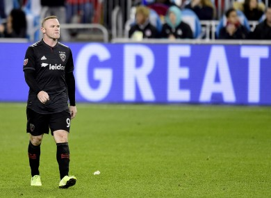 Rooney's time in MLS has come to an end.