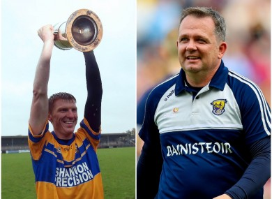 Niall Gilligan and Davy Fitzgerald won All-Ireland club medals together in 1996.
