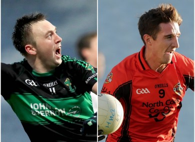 Paul Kerrigan and Aidan Walsh will be in opposition in the Cork senior final.