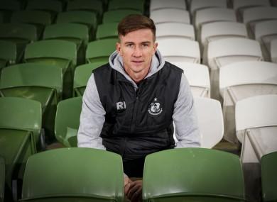 Shamrock Rovers' Ronan Finn.